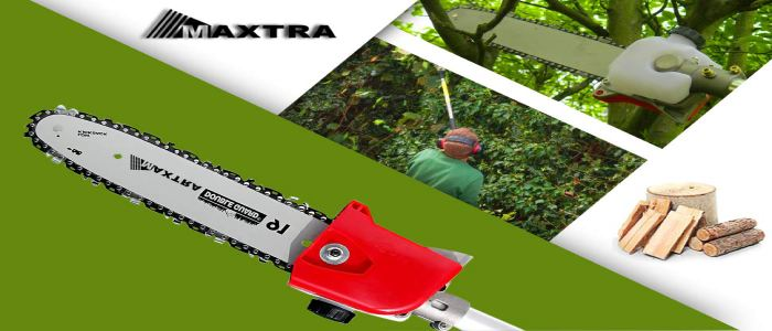 Maxtra 42.7CC 2-Stroke 1.5HP 1100W Gas Pole Chainsaw