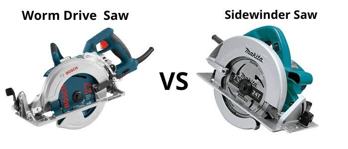 worm drive vs sidewinder